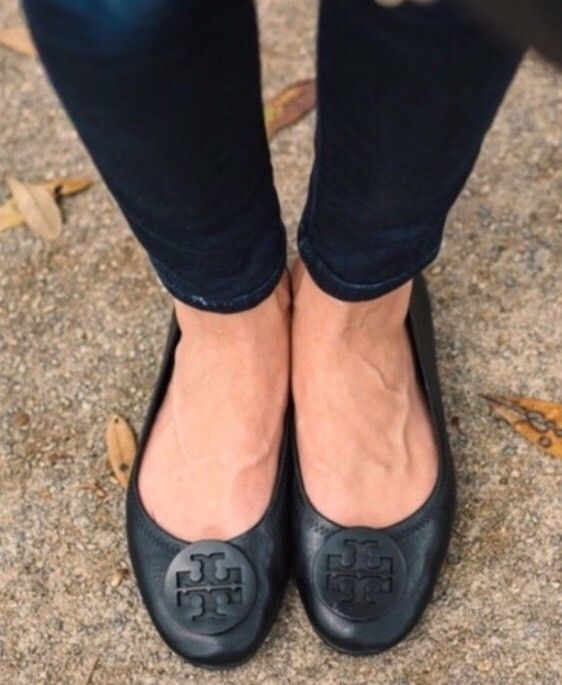 506be5d555 Tory Burch 'Minnie' travel ballet flats. The split sole and flexible  construction make it easy to fold into the included shoe bag and take  along, ...