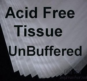 20pk JUMBO 24x36 UNBuffered ACID FREE Tissue Paper FREE SHIP Archival Storage