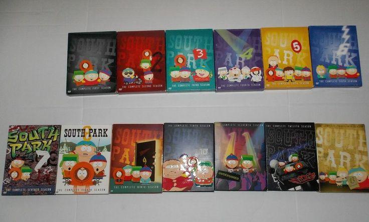 South Park DVD Bundle Seasons 1-13 Great Condition!!