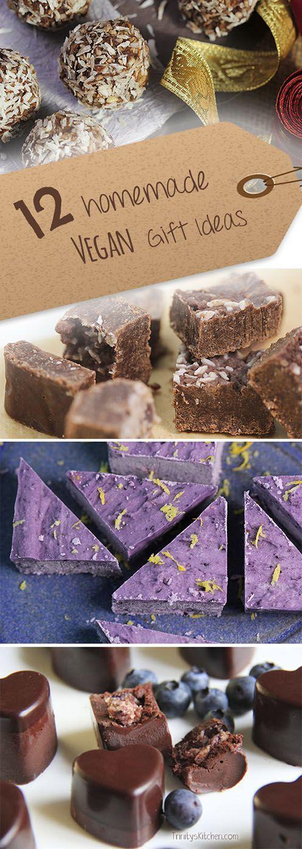 Homemade Vegan Edible Gift Ideas from Trinity's Kitchen...