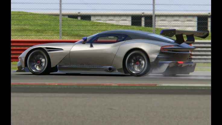 Aston Matin Vulcan Test Drive at Silverstone