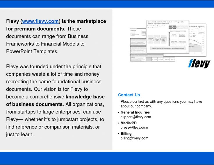 Best Flevy  Marketplace For Premium Business Documents Images