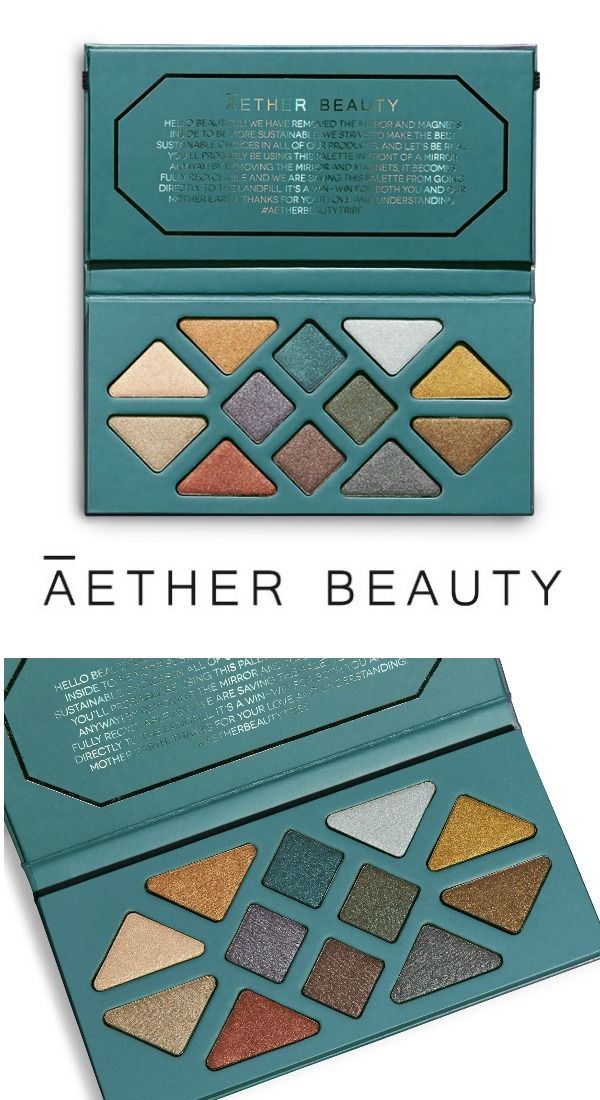 ca231f8babbb AETHER BEAUTY NOW AVAILABLE AT SEPHORA.com! Shop our Crystal Grid Gemstone  Palettes ( 58USD) 12 cosmic inspired shades in shimmer + metallic finishes  that ...
