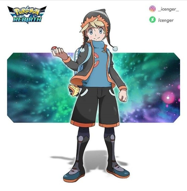 Pokemon Human Characters Pokemon Oc Pokemon Characters