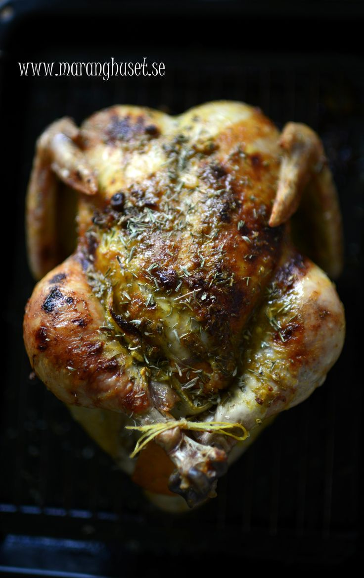 Our Saturday night feast - lemon and thyme chicken - slow rost - just like Carola does it... With my memories of Sparta in Mind...