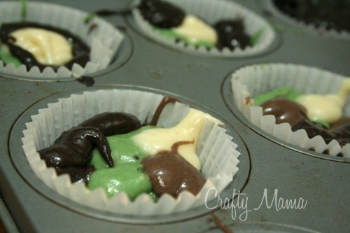 {TUTORIAL} camouflage cupcakes #military