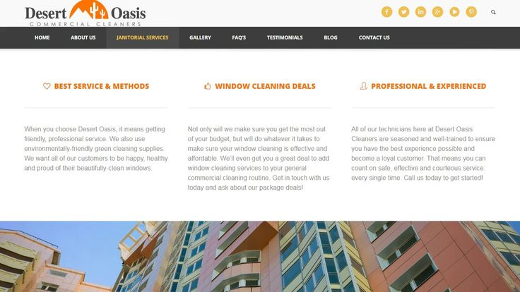 """Commercial Window Cleaning Phoenix 