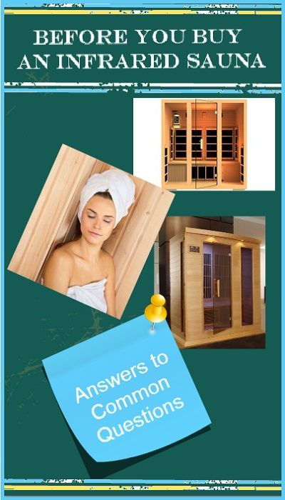 Before you buy an infrared sauna