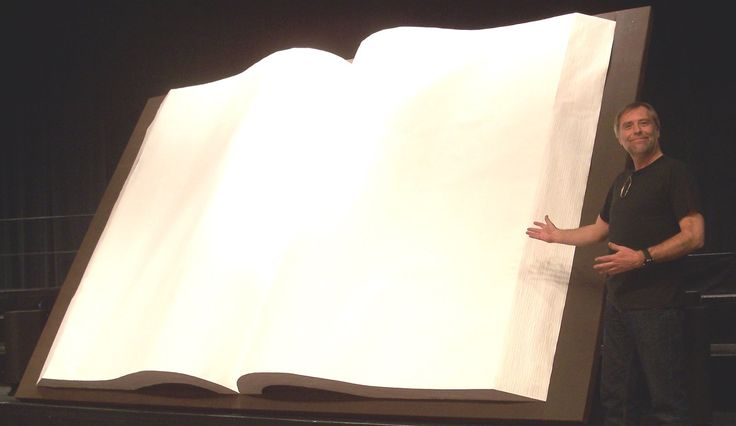 """How To Make A Giant Book...I would do the small version...not the """"bigature"""" one at the end of video...and put the """"Life is made up of..."""" quote"""