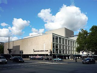 The Deutsche Oper Berlin is an opera company located in the Charlottenburg district of Berlin, Germany. The resident building is the country's second largest opera house and also home to the Berlin State Ballet.
