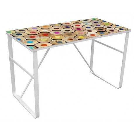 Mesa escritorio de Despacho FARBEN es una apuesta segura por su precio y su calidad con un fácil montaje.