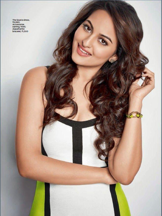 Sonakshi Sinha in 'Women's Health' magazine. #Style #Bollywood #Fashion #Beauty