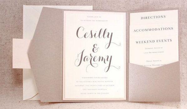 Pretty invite