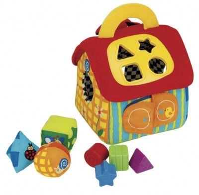 #Sorter - idealny do nauki poprzez zabawę. Zabawka uczy #maluszka dopasowywania kształtów i rozpoznawania kolorów. Pozwala również na ćwiczenie koordynacji małych rączek.
