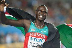 David Rudisha - Kenyan Olympic champion & world record holder
