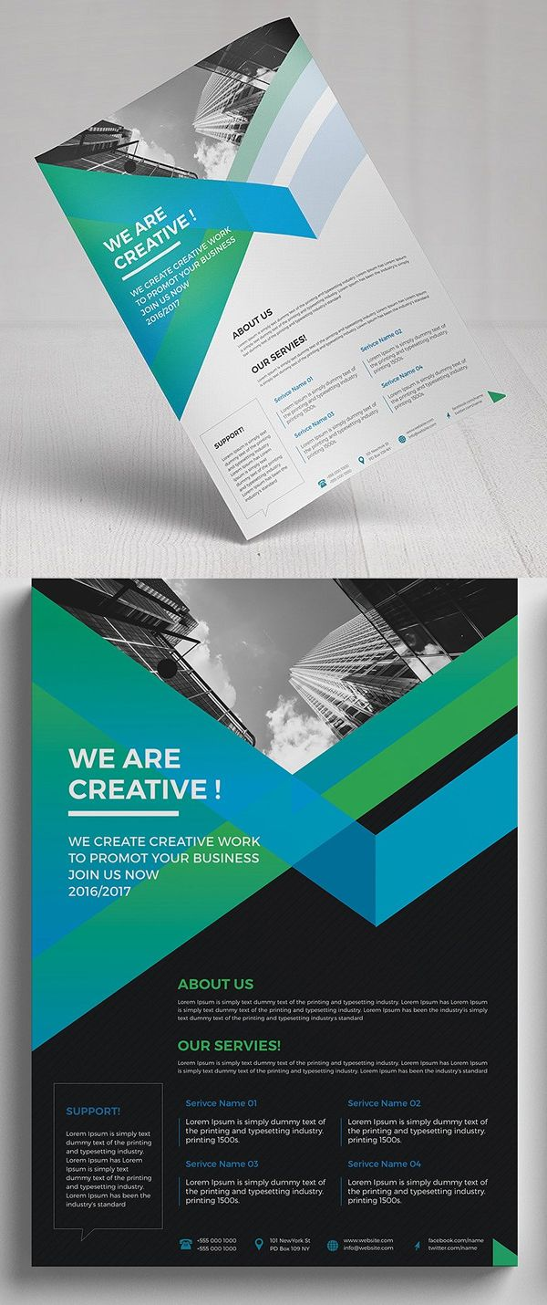 Business Flyer Template #design #flyerdesign #flyertemplates #posterdesign #corporateflyer