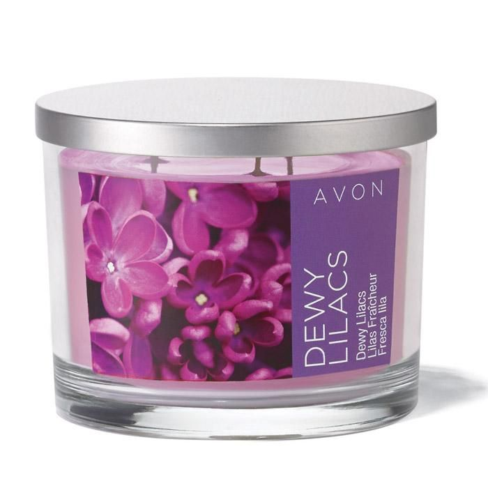 81 best avon candles images on pinterest avon products scented notes of fresh dewy lilacs sparkling bergamot baby jasmine petals and sheer musk sciox Images