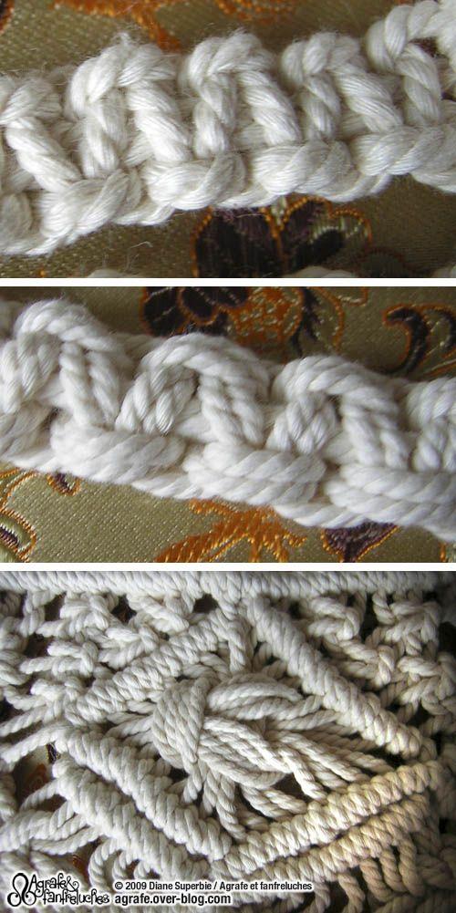 Voici encore un nœud que vous avez déjà dû rencontrer. Le nœud plat est une sorte de « signature » du macramé. Il permet de réaliser des barrettes et autres cordelettes , idéales pour faire des bandoulières de sac ou des petites ceintures
