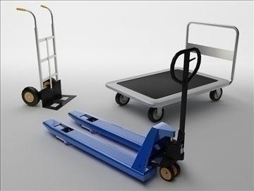 Carts 3D Model-   Carts - #3D_model #Tools