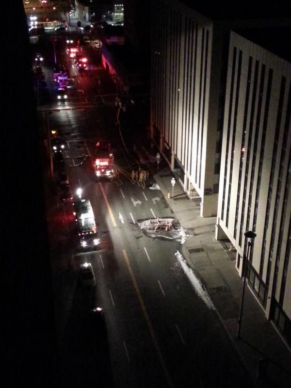 A detailed timeline of the Calgary downtown blackout in 2014, caused by an underground, electrical fire which destroyed ENMAX and Shaw infrastructure.