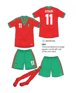 Morocco | home jersey | 2013