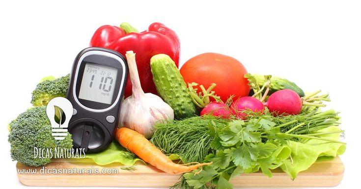 Alimentos que ajudam a regular os níveis de açucar no sangue.