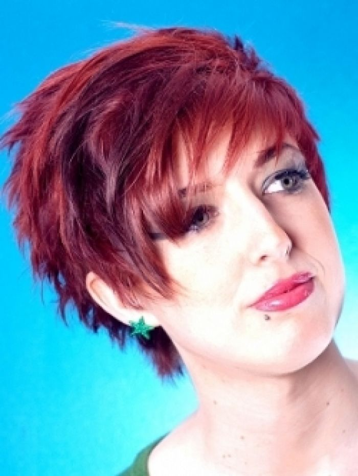 17 Best Ideas About Short Burgundy Hair On Pinterest  Wine Colored Hair Fun