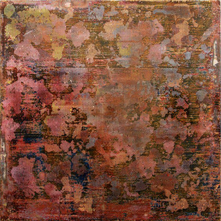 Robert Pan, (Bolzano/Bozen, 1969),  ED 9,235 EN, 2013-14, Resina, tecnica mista / Harz, Mischtechnik, 180 x 180 cm