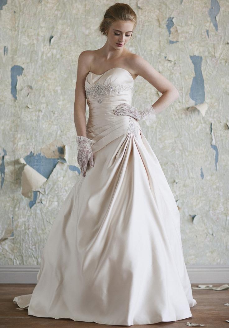 Victoria, Ruche, $849.99, Wedding Dress
