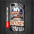 New York Islanders NHL Sports Hockey iPhone 4, 4S Case - Black Case #iPhone4 #iPhone4 #PhoneCase #iPhone4Case #iPhone4Case