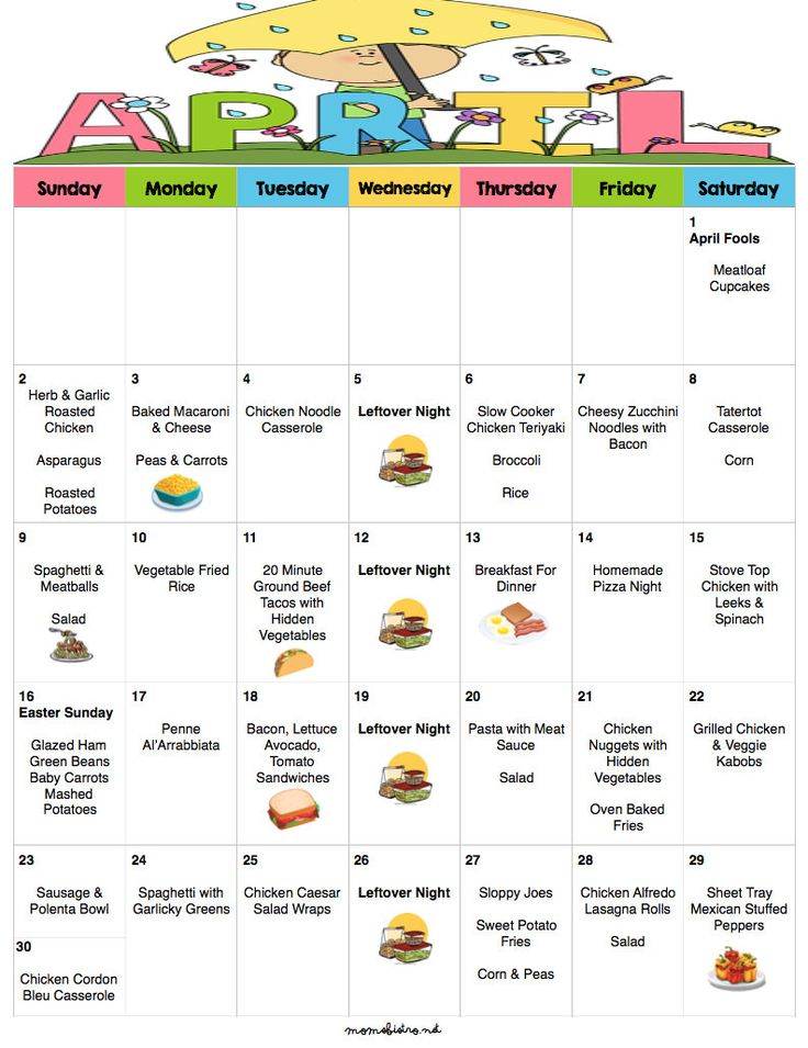 March 2017 Budget Menu Plan | Weekly Grocery List & Recipes | Budget Menu Plan | Monthly Menu | Meal Plan | Easter Menu by MomsBistro on Etsy