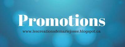 Les créations de Marie-Josée: Promotions Stampin' Up!