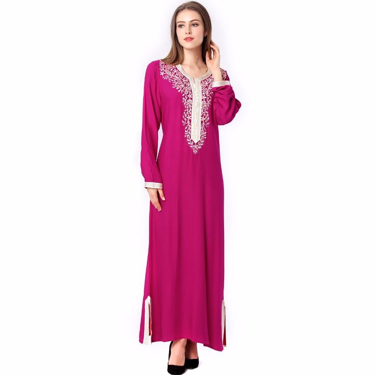 Abaya Kaftan Robe *** AliExpress Affiliate's Pin.  Find similar products on AliExpress website by clicking the VISIT button