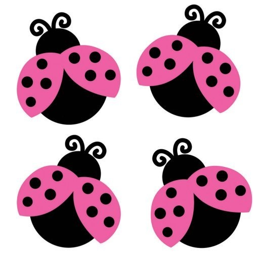 Lady Bugs....sweet in the Pink