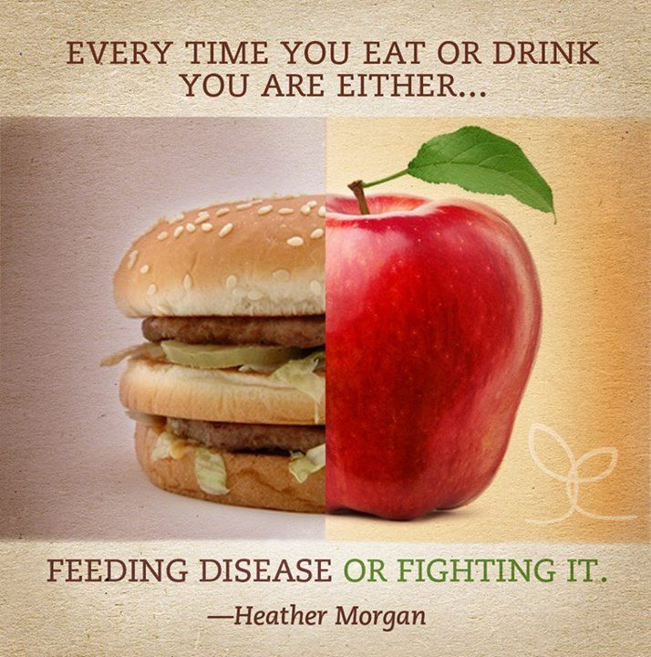 Every time you eat or drink you are either feeding disease or fighting it! Eating Healthy Saves You More in the Long Run. #diet #health