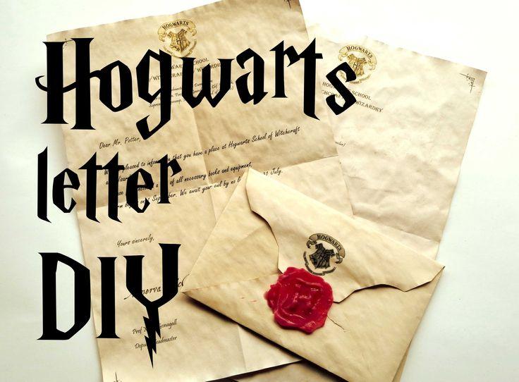 Best 25 Harry Potter Letter Ideas On Pinterest
