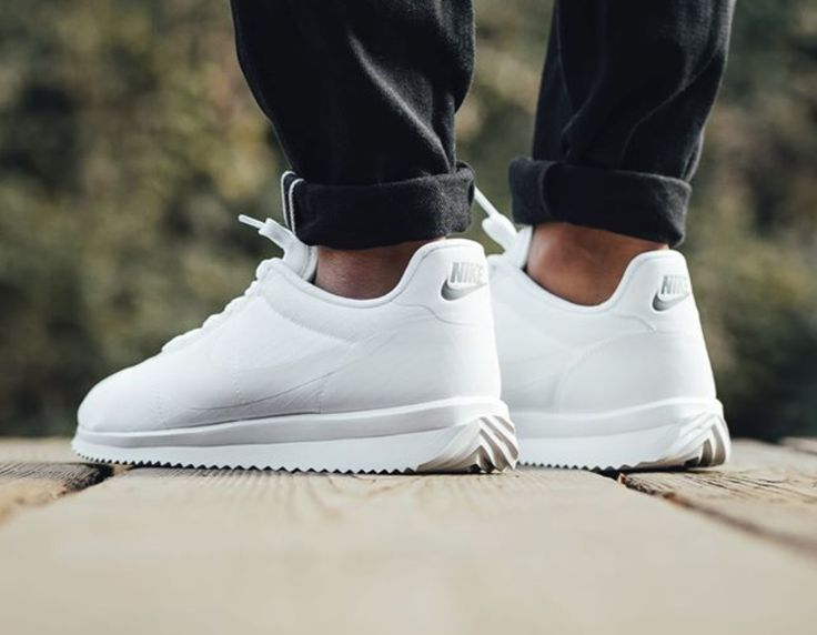Nike Men's Cortez Ultra All White Casual Shoe