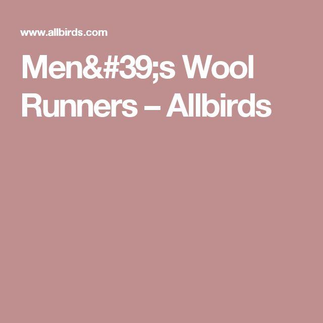 Men's Wool Runners – Allbirds