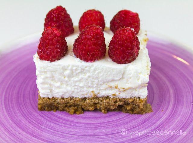 paprica e cannella BLOG: Cheesecake yogurt e lamponi