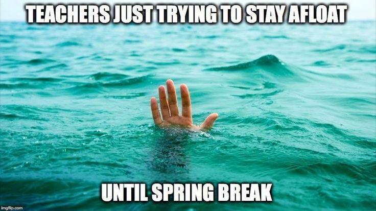 SPRING BREAK!?!?  Let's try for an ENTIRE CAREER!!!!