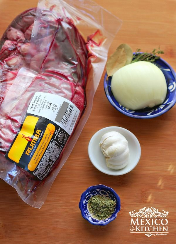 Lengua meat