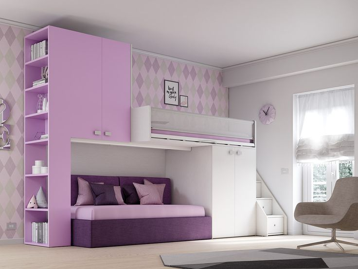 KS 203 Bedroom set by Moretti Compact