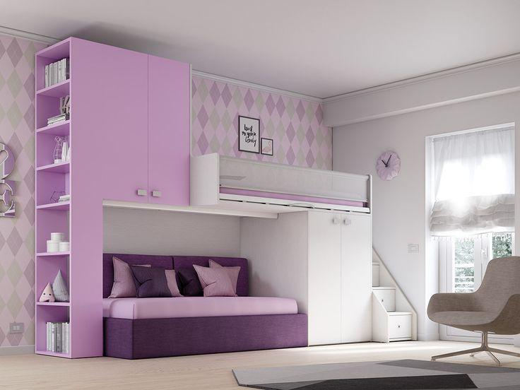 KS 203 Bedroom set by Moretti Compact