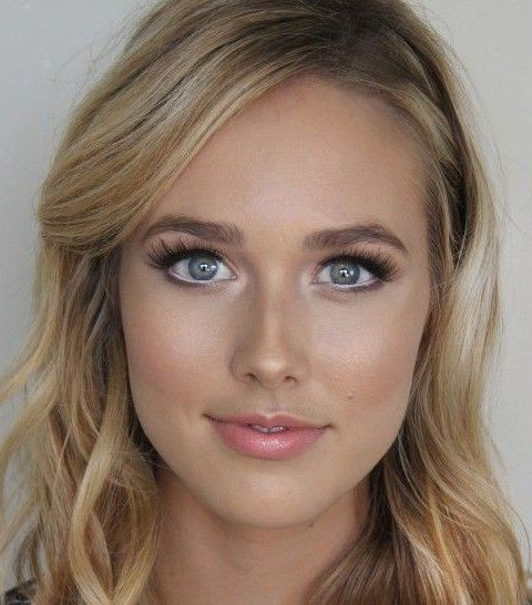Pretty Natural Makeup Idea 2015 For Blue Eyes Looks I