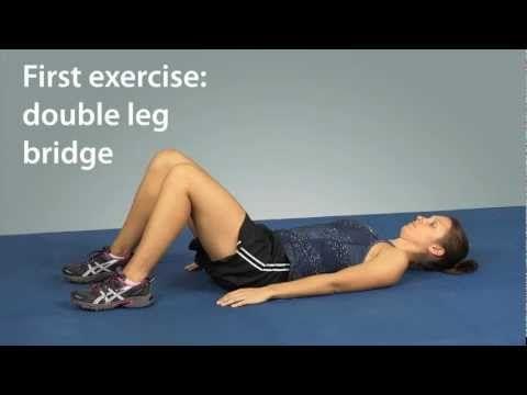 Exercises for Hip Bursitis (Trochanteric Bursitis) Relief - New Demonstration Video