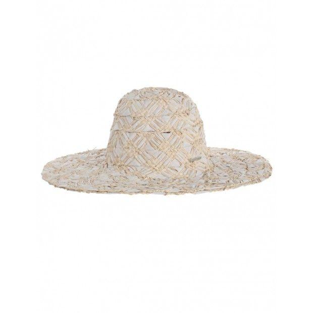 Raffia Weave Narrow Brim Hat - Zimmermann