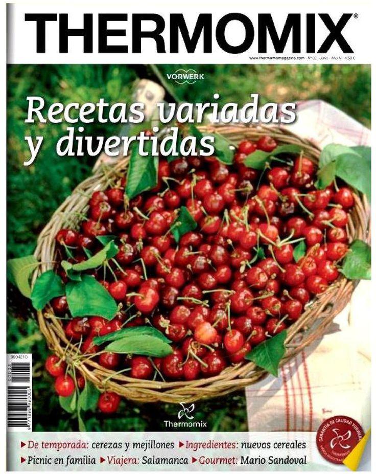 Revista thermomix nº32 recetas variadas y divertidas