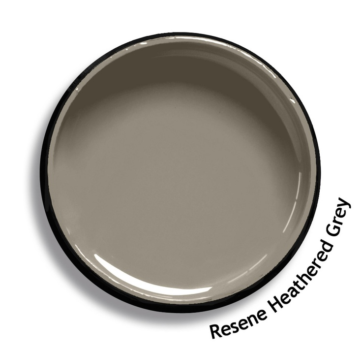 Resene Heathered Grey is a worn grey brown, comfortable and easy. From the Resene Karen Walker Paints colour range. Try a Resene testpot or view a physical sample at your Resene ColorShop or Reseller before making your final colour choice. www.resene.co.nz/karenwalker.htm