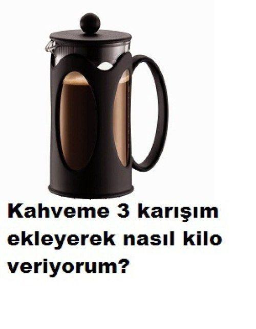 Kahve ve 3 karışımla nasıl kilo veriyorum?Bu tarif hem çok lezzetli hem vazgeçilmezimiz kahve hem de zayıflatıyor