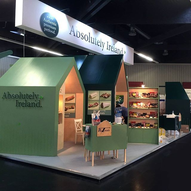 Exhibit Design created this space for Enterprise Ireland at Interzoo 2016, which took place from 26th - 29th May in Nuremberg, Germany. As part of the project we designed stands for a number of different Irish pet food suppliers.